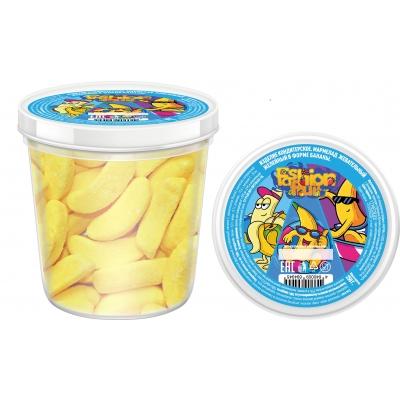 Жевательный желейный мармелад Fashion fruit, банан 250г
