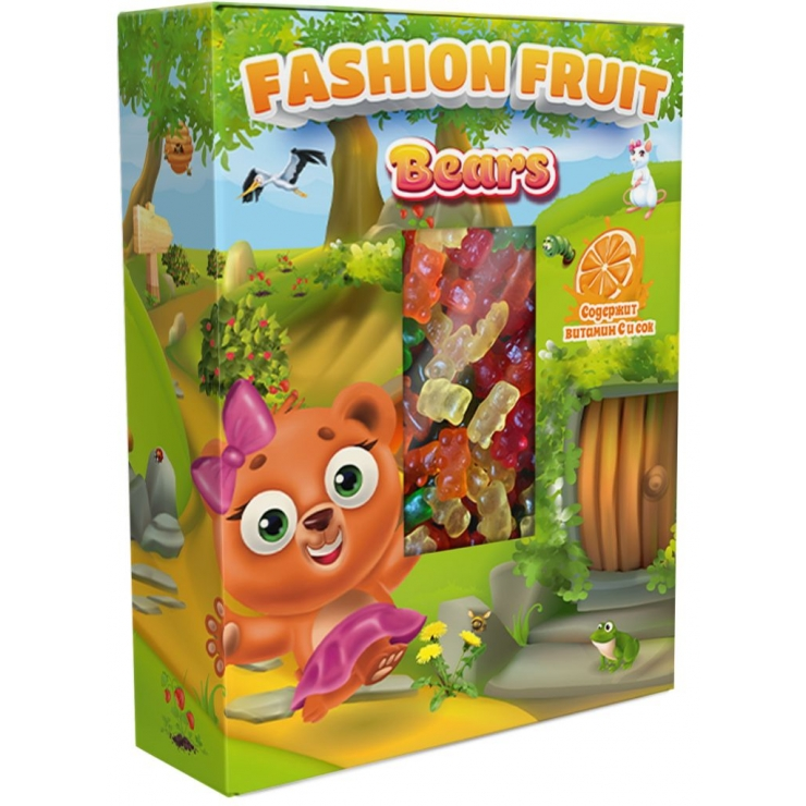 Fashion Fruit Мишки 300г